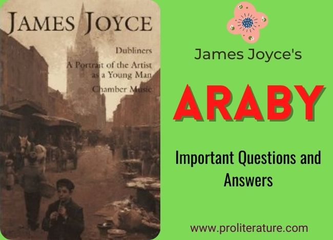 Araby: 20 Questions and Answers
